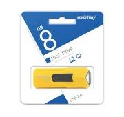 Память USB Flash 8 GB SmartBuy Stream SB8GBST-Y