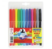Фломастеры 12цв Centropen Colour World треуг. корп. блистер 7550/12 TP /1
