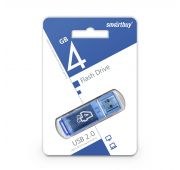 Память USB Flash 4 GB Smart Buy glossy series